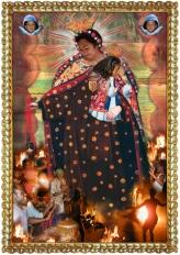 La Virgen de El Carmen.72x600
